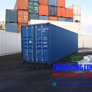 Container 40 feet nặng bao nhiêu kg