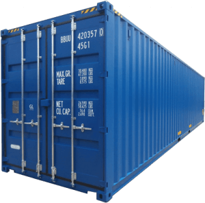 container 20 feet - container 40 feet