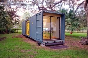 làm nhà từ container
