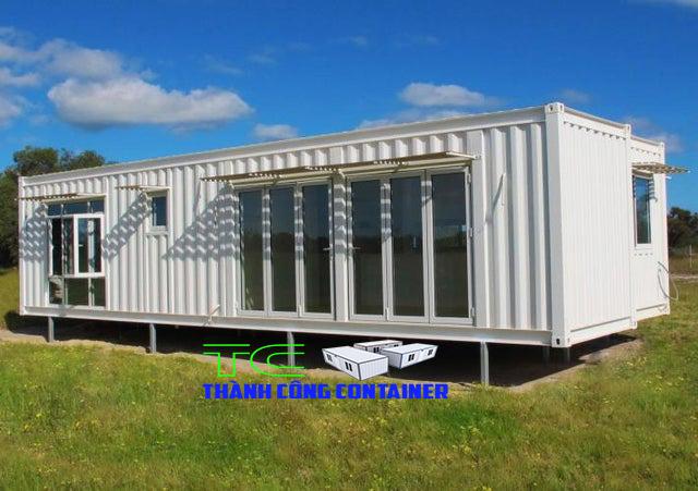 Nhà làm từ container siêu đẹp tiết kiệm chi phí đang được mọi người quan tâm