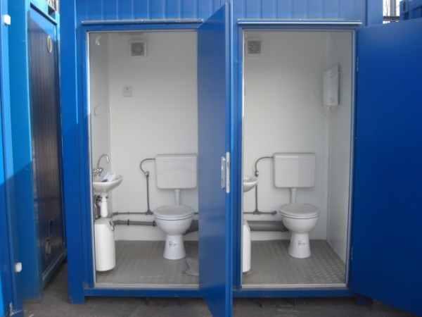 Nhà vệ sinh di động làm từ thùng container