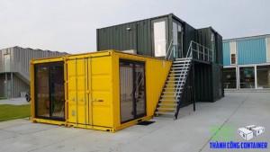 Thi công container văn phòng đẹp giá rẻ